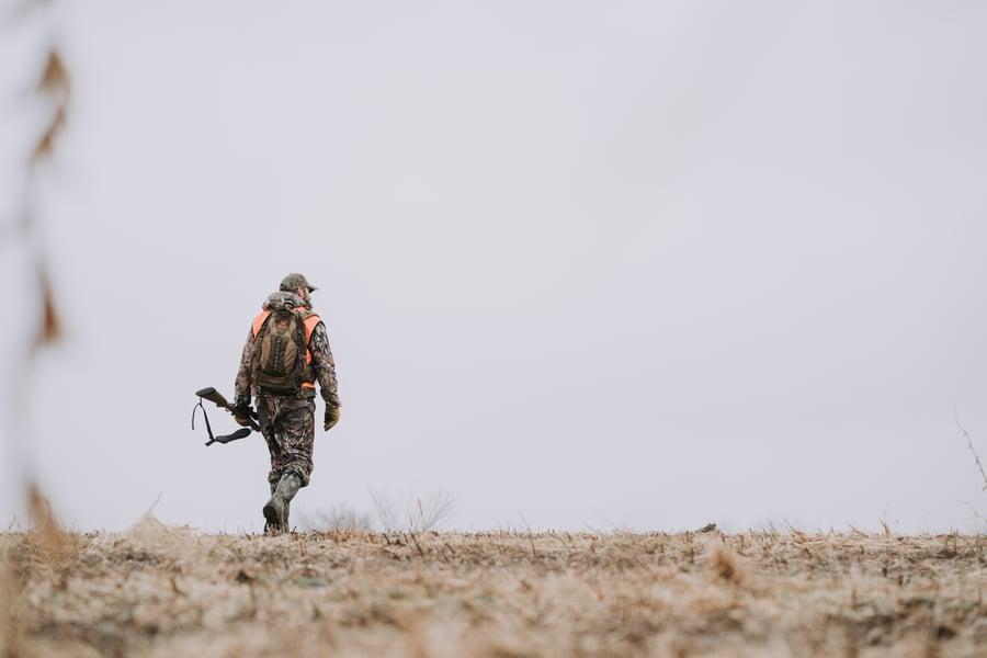 Josh Dahlke filming The Hunger in Iowa